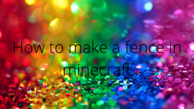 Photo of How To Make a Fence in Minecraft